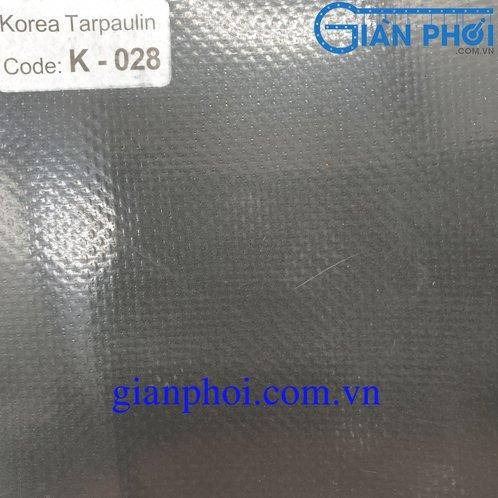 Bạt che nắng hệ rút thông minh nhập khẩu korea k028 màu ghi xám