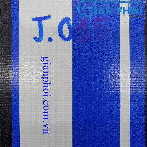Bạt che nắng hệ rút thông minh nhập khẩu Nhật Bản j015 màu xanh, trắng