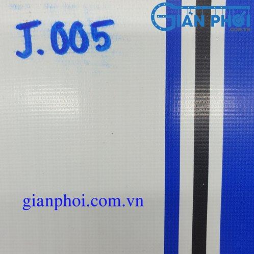 Bạt che nắng rút thông minh nhập khẩu nhật bản j005 3 lớp màu xanh, trắng