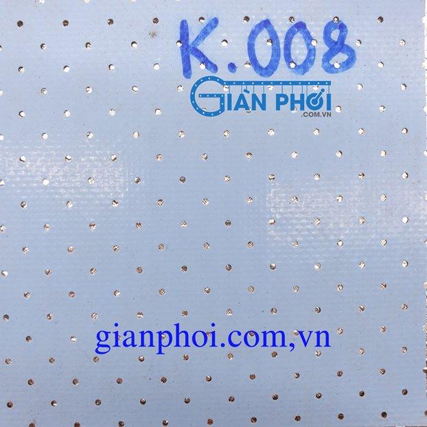 Bạt che nắng lỗ thông tự cuốn thông minh korea k008