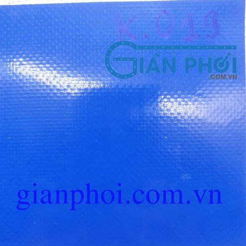 Bạt che nắng hệ mái hiên di động nhập khẩu korea k019 màu xanh nước biển